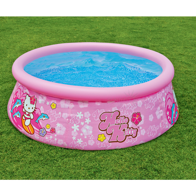 6FT X 20IN HELLO KITTY EASY SET POOL 28104NP